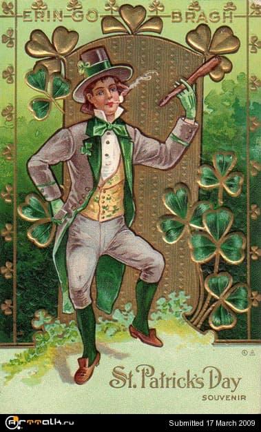 Открытки в ирландском стиле, летием девочку