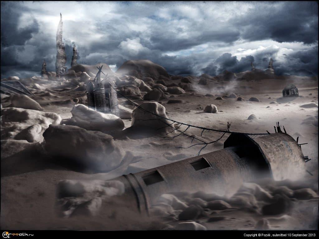 Долина падающих башен...