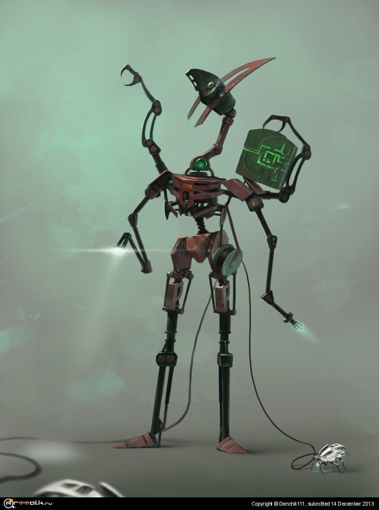 Дроид-электрик