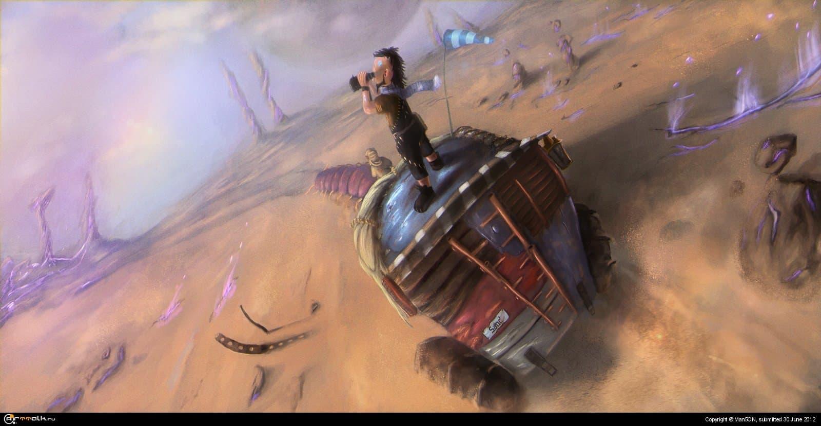 """""""на пыльных тропинках далёких планет"""""""