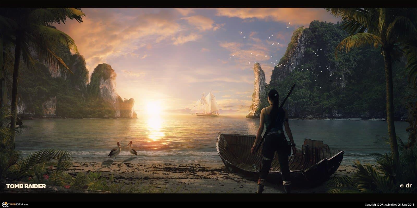 Tomb Raider // Расхитительница гробниц