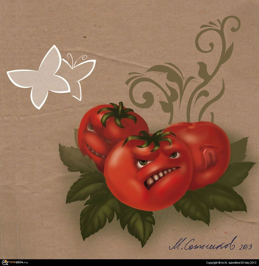 ГМО томаты