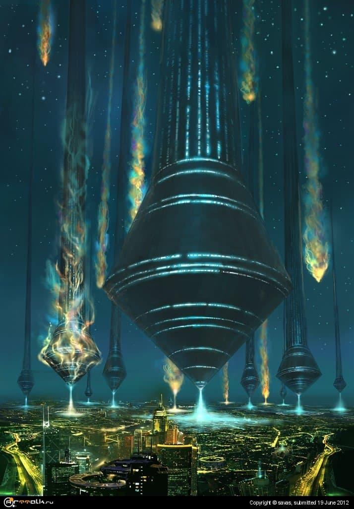 Прибытие кораблей Аладонов