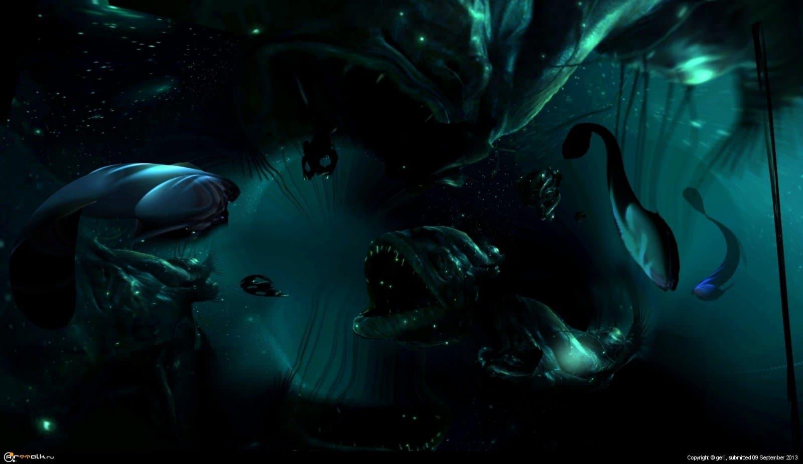 Темный мир вод