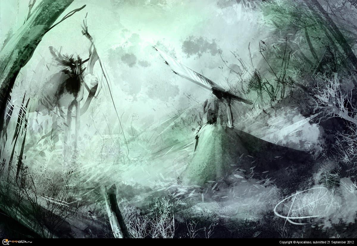 Лесной монстр