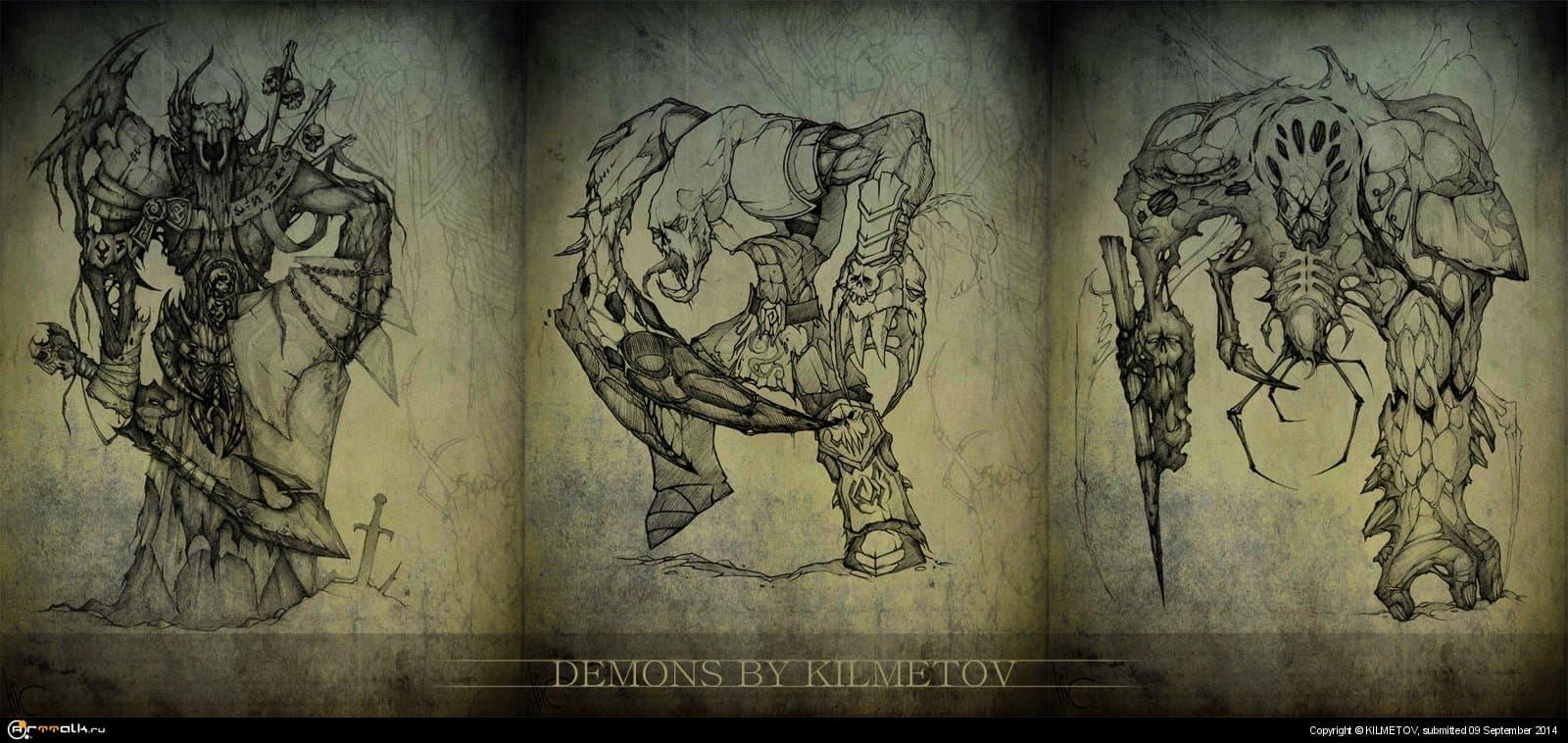 Демоны..