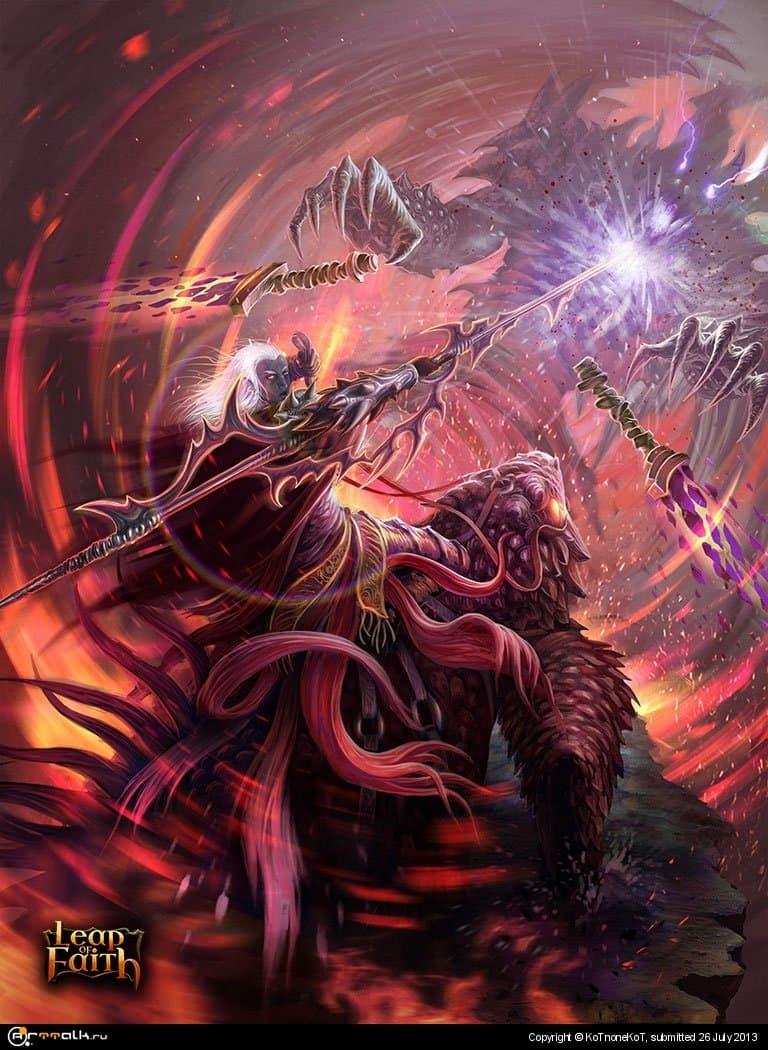 Dark Elf Spearman #2