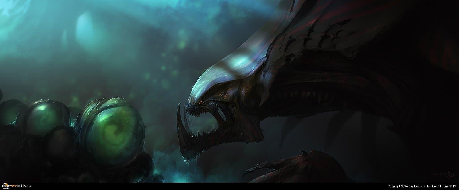 Starcraft 2: Hydralisk Den