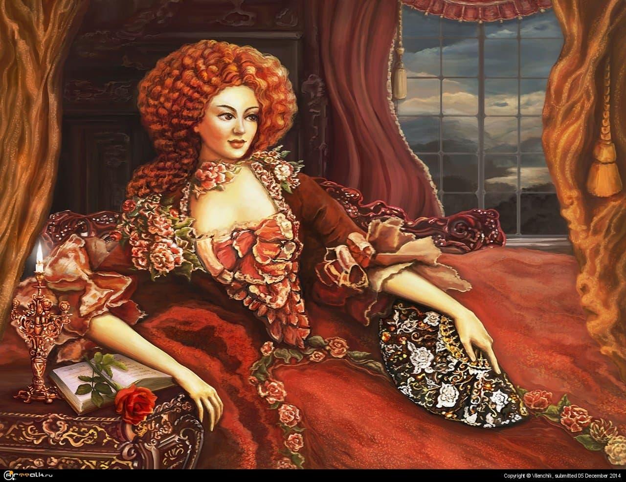 Aristocrat Woman Of Laar