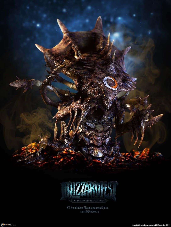 Hydralisk_blizzardfest2014