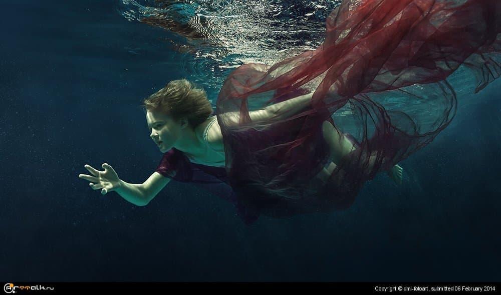 Underwater Butterfly.