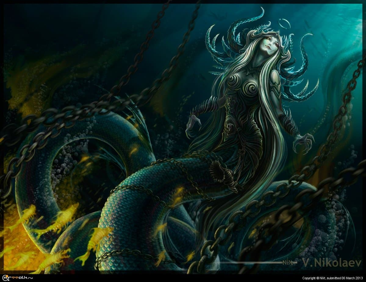 Аркория - повелительница прибрежных вод