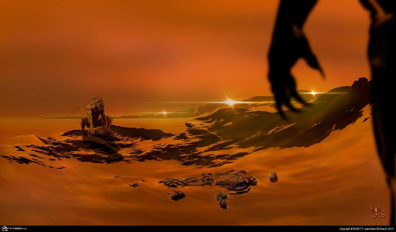 Марс... Издержки колонизации..(База №1.)