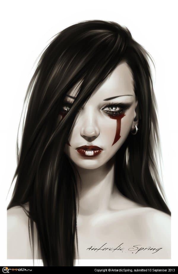Pale Girl I