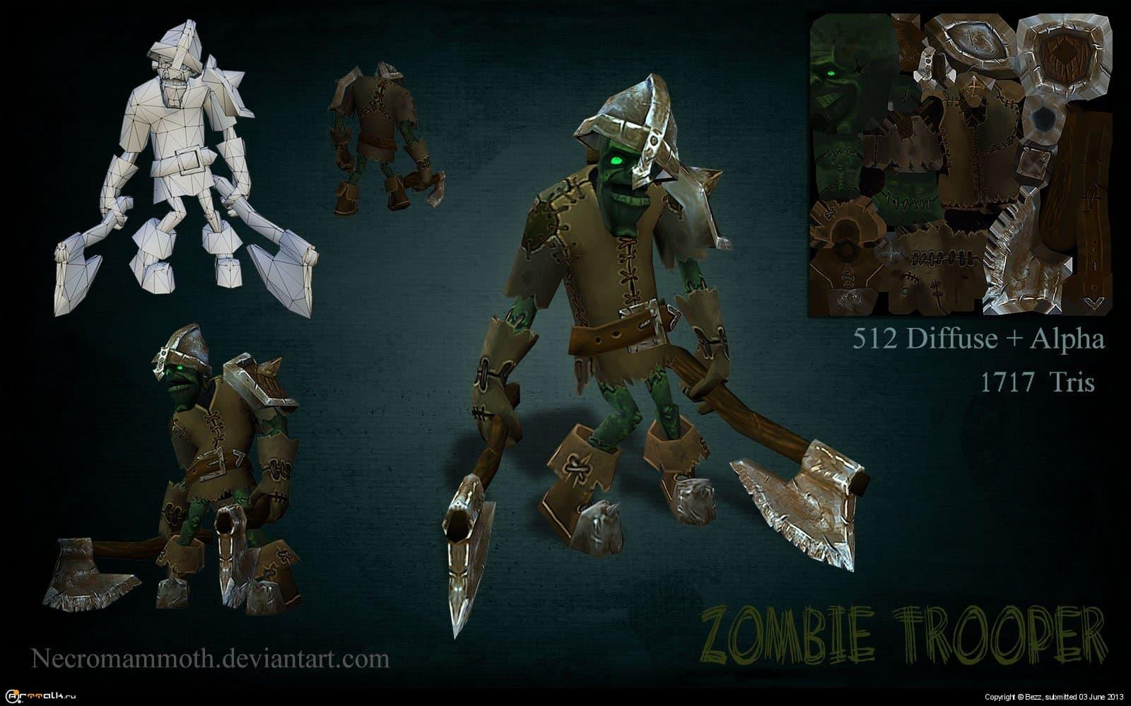 Зомби Пехотинец