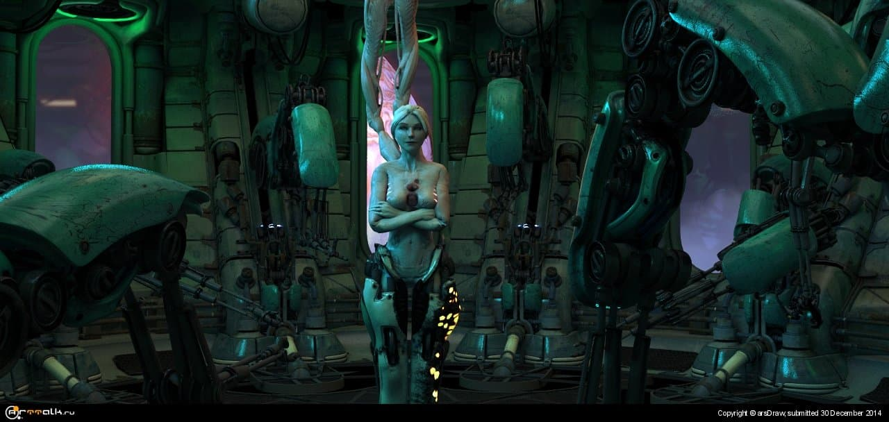 Infested Medic Animation (starcraft Fan Art)