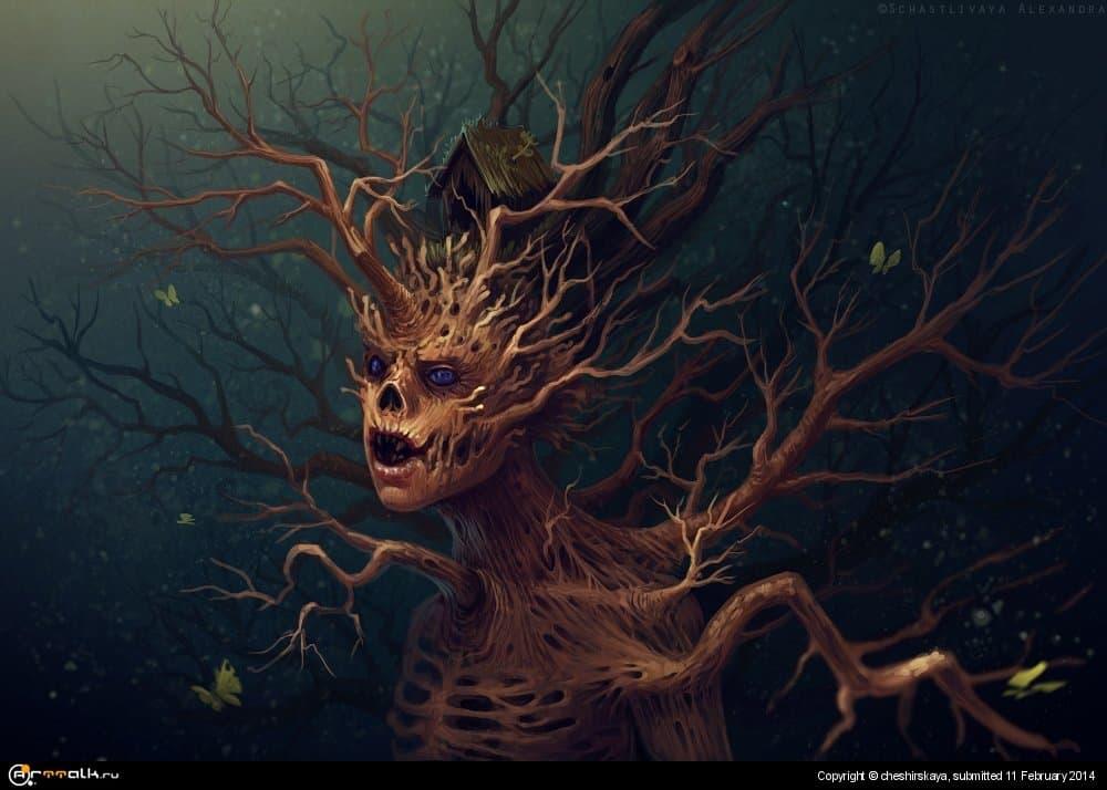 Wooden Monster