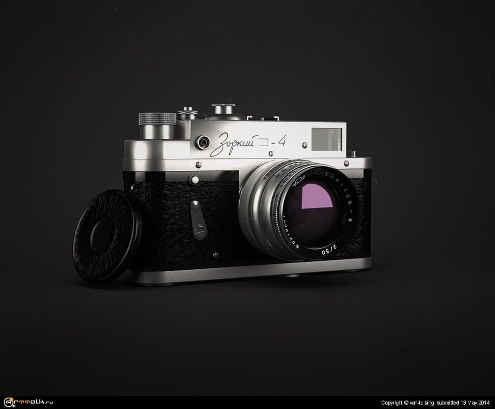 "фотоаппарат ""Зоркий 4"""