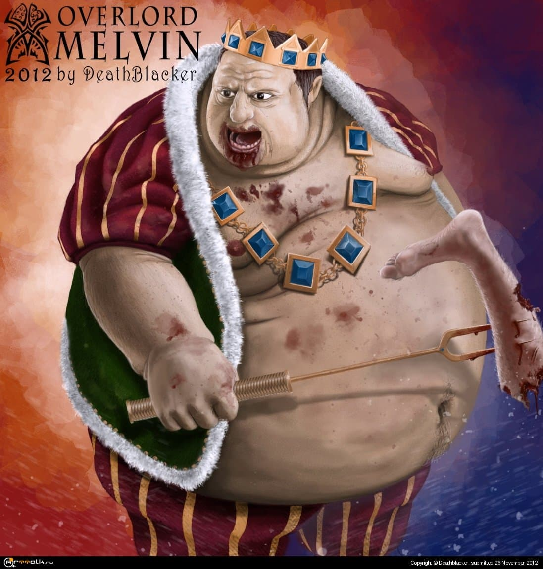 Melvin Fanart Overlord