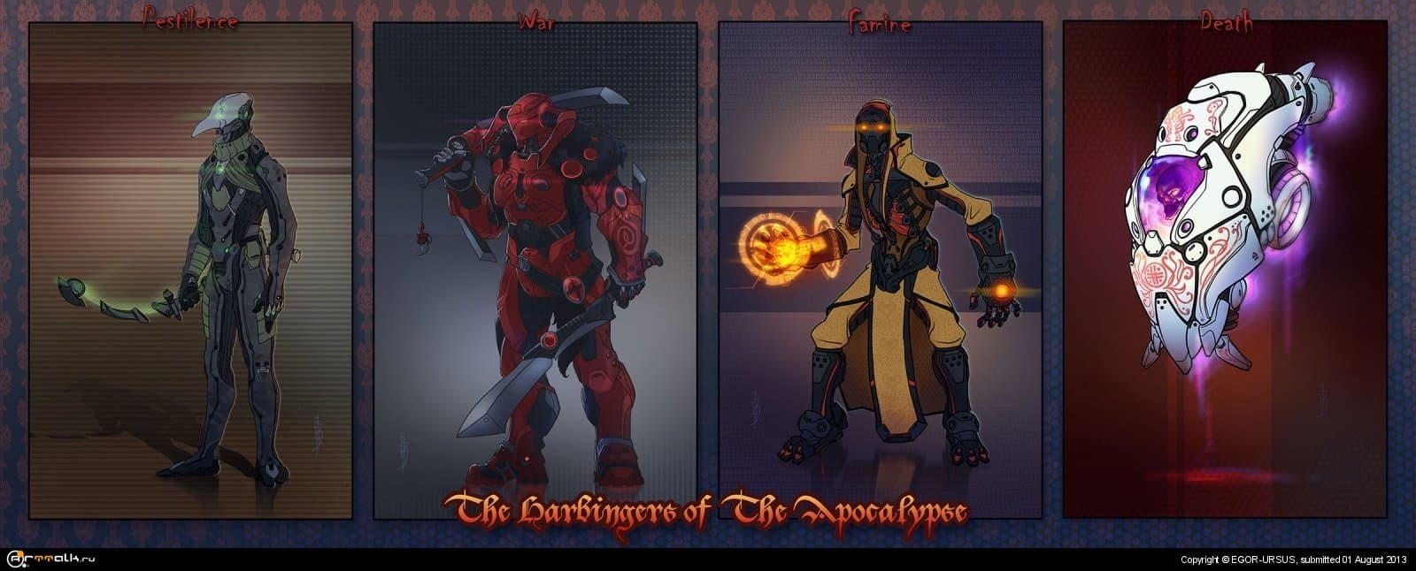 """the Harbingers Of  The Apocalypse\"""