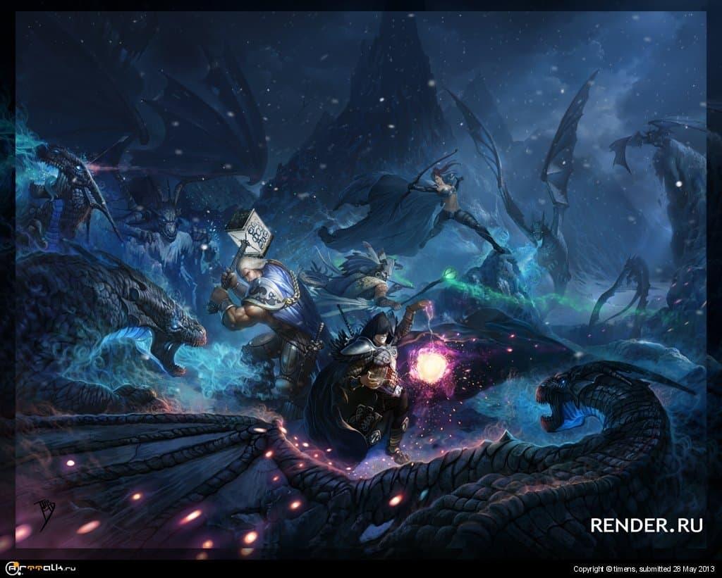 Охота на Анграакских драконов
