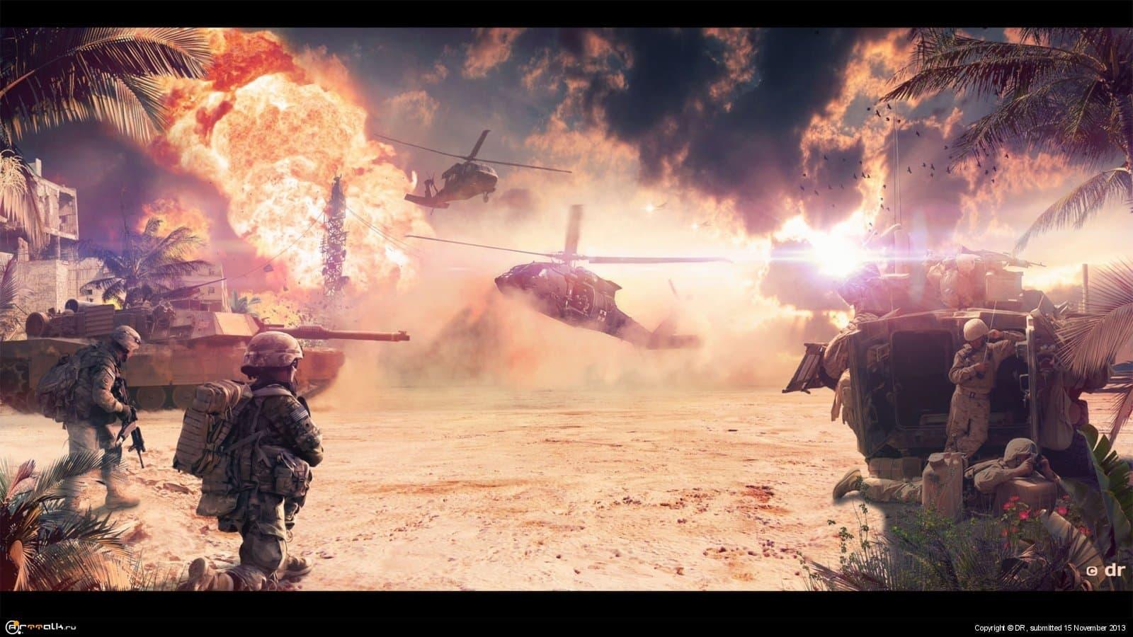 Battlefield // Операция Гильотина