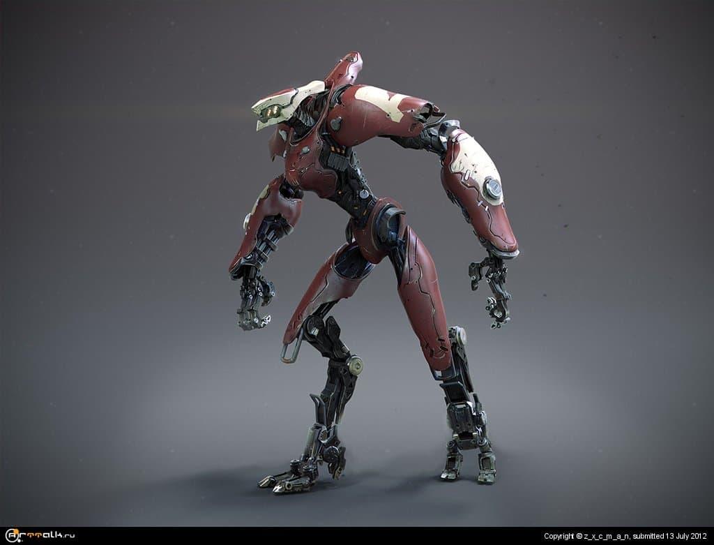 Долговязый робот [ Lanky Mech ]