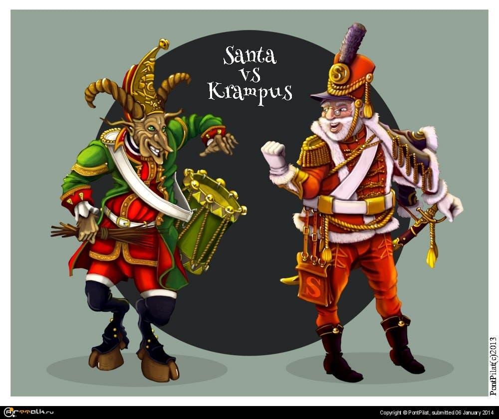 Санта против Крампуса