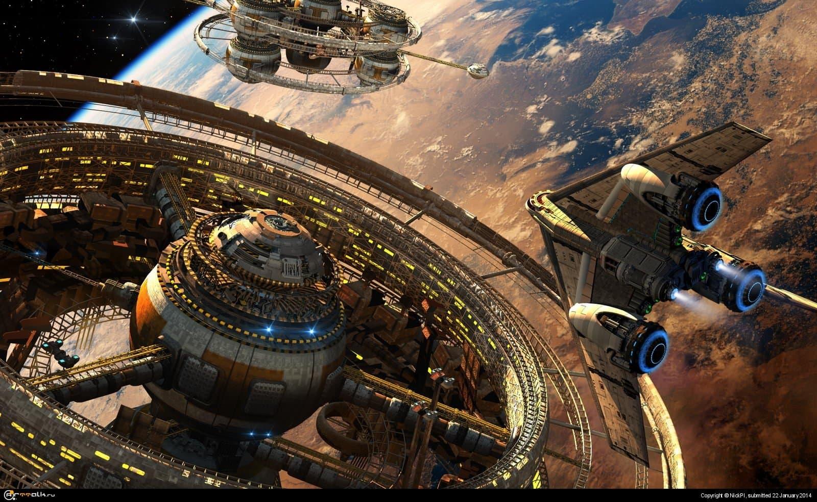 Орбитальные поселения