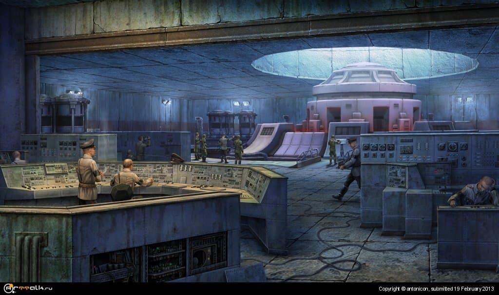 Planet Alcatraz, Aryan Lab