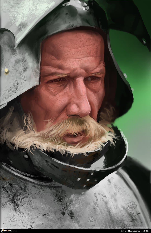 Portret Knight 2