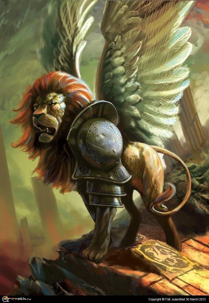Боевой лев