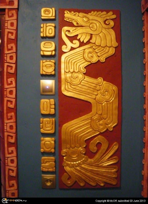 в стиле майя