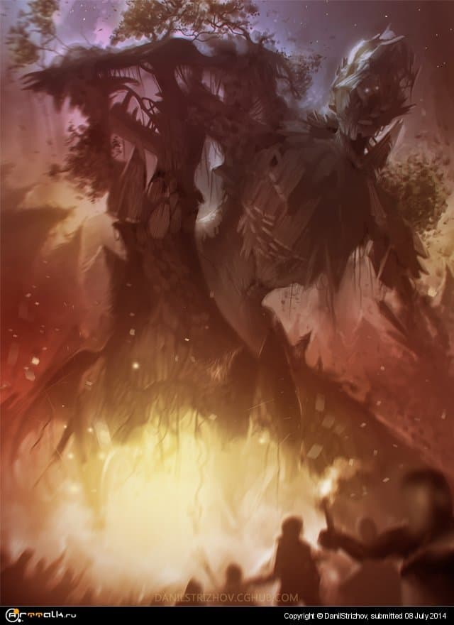 Treant Versus People