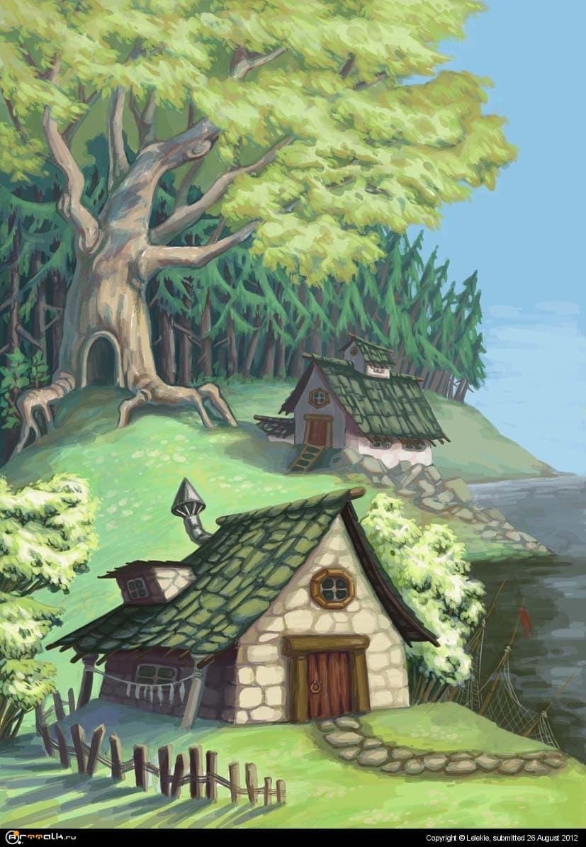 Троллиная деревенька