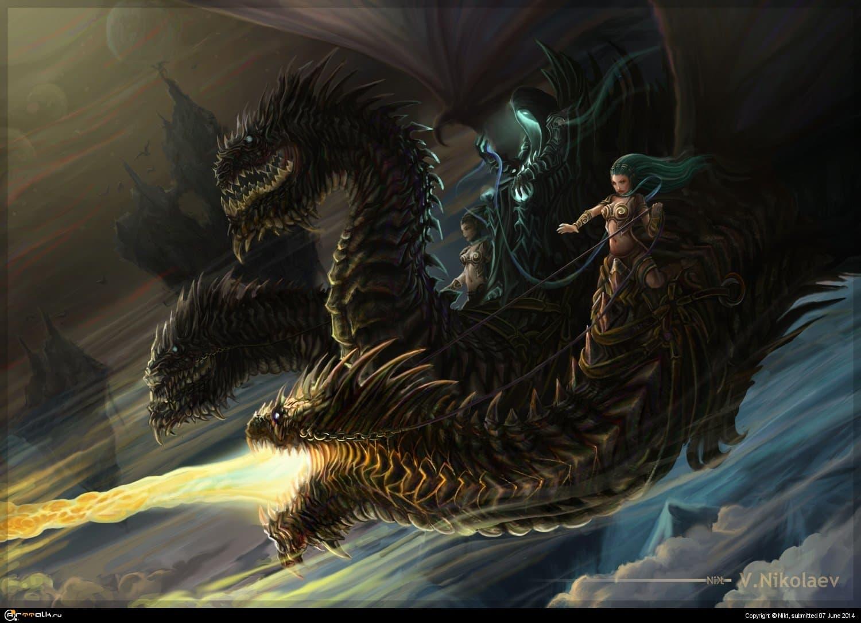 Змей горынычЪ