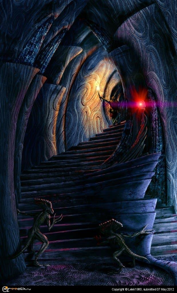 В даэдрическом святилище