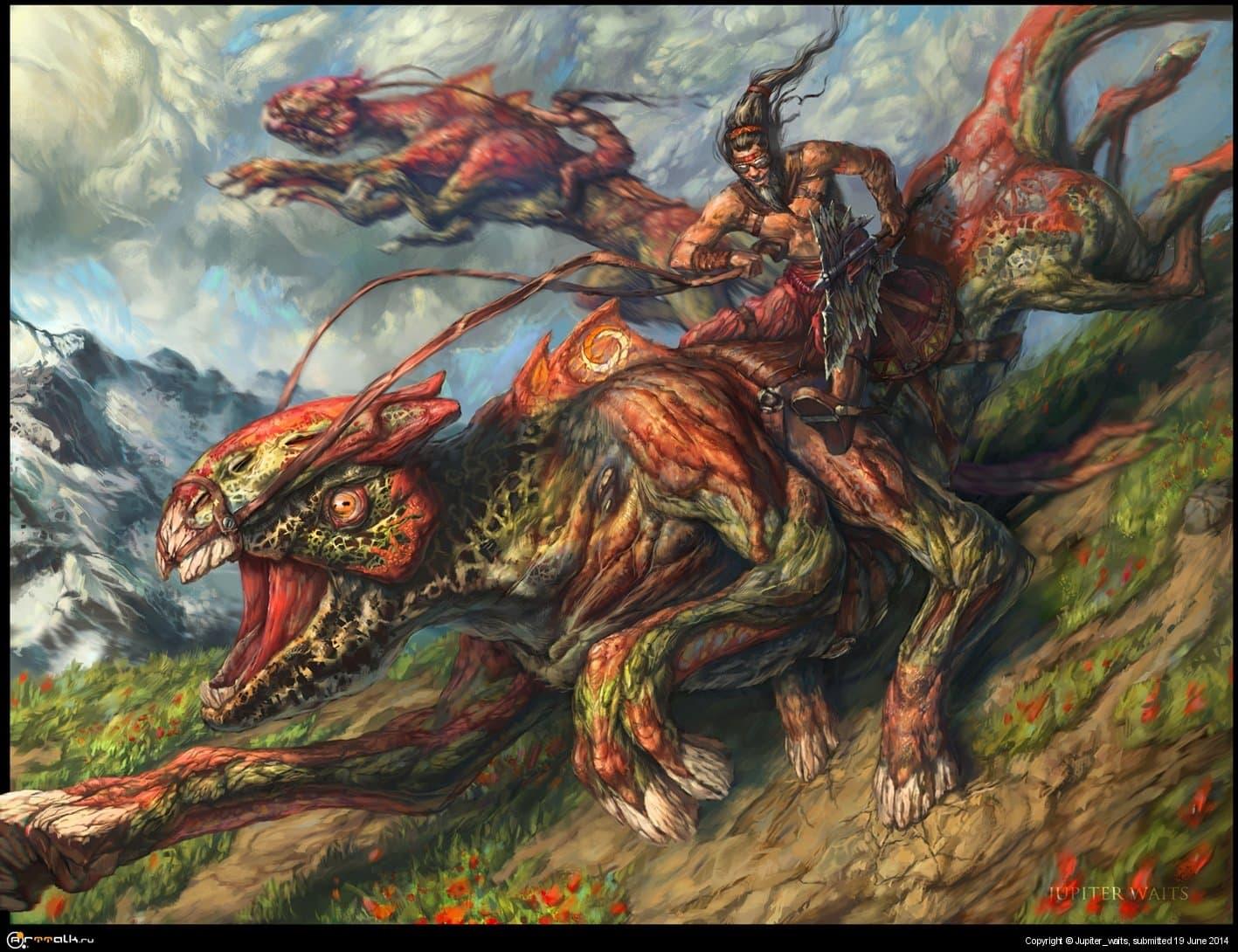 Набег горных варваров