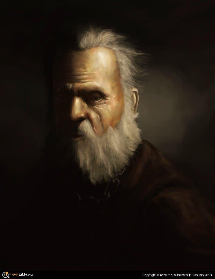 портрет мейстера