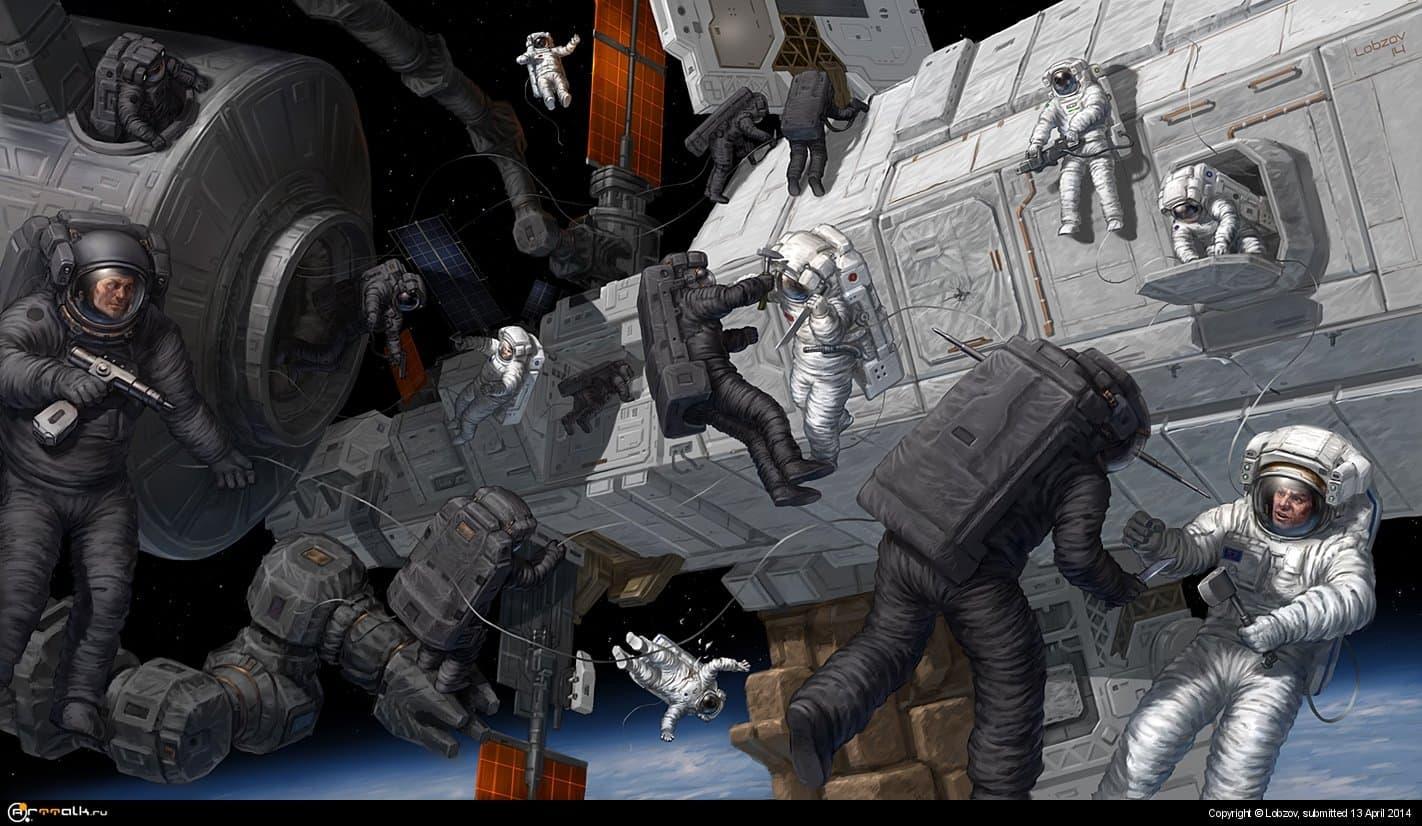 Абордаж в космосе