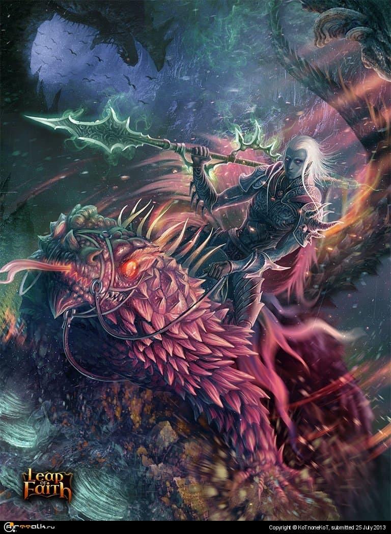 Dark Elf Spearman #1