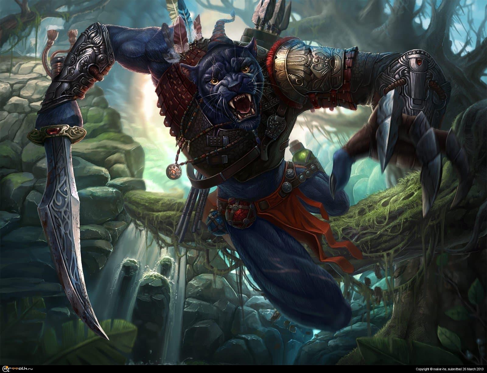 Пантера-Воин (Дети Кронга)