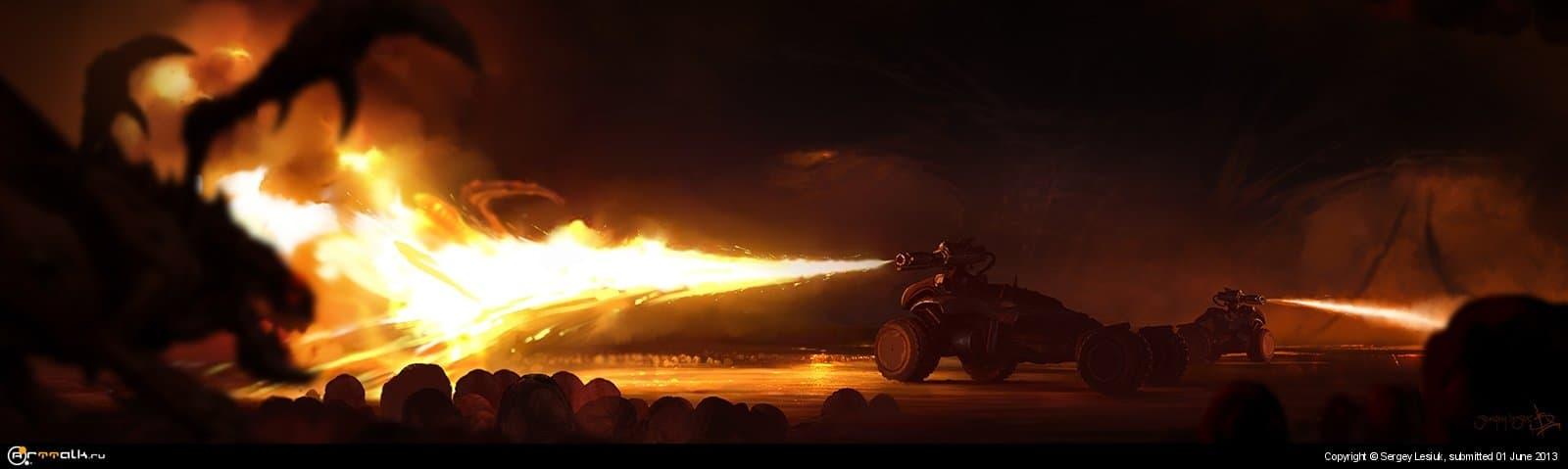 Starcraft 2: Hellion Rush
