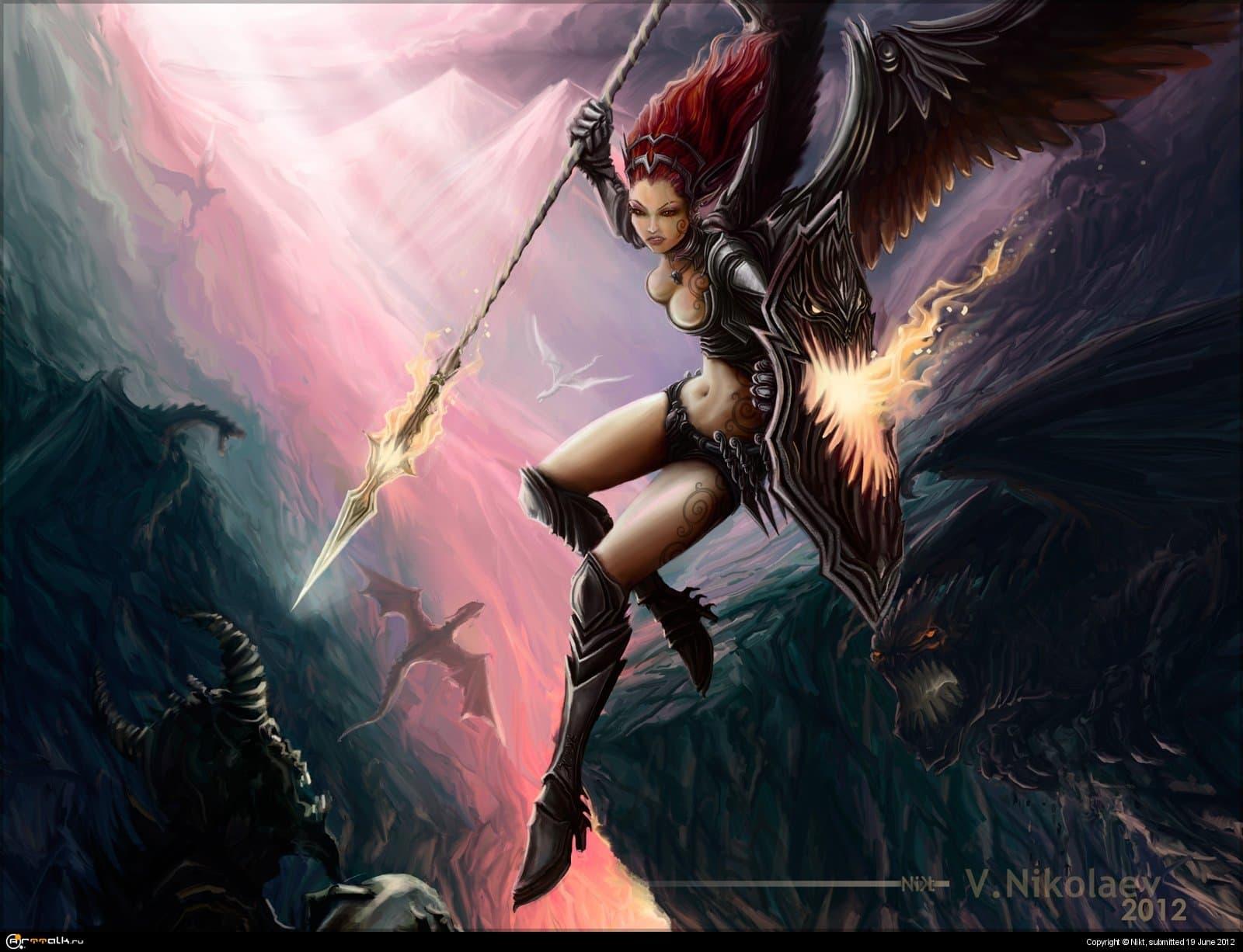 Страж драконов - Дайрена