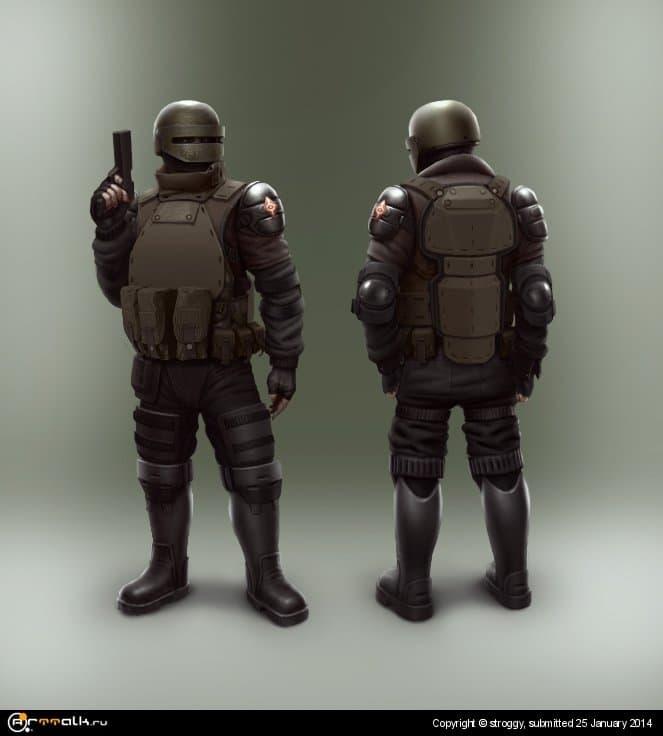Концепт тяжелой пехоты