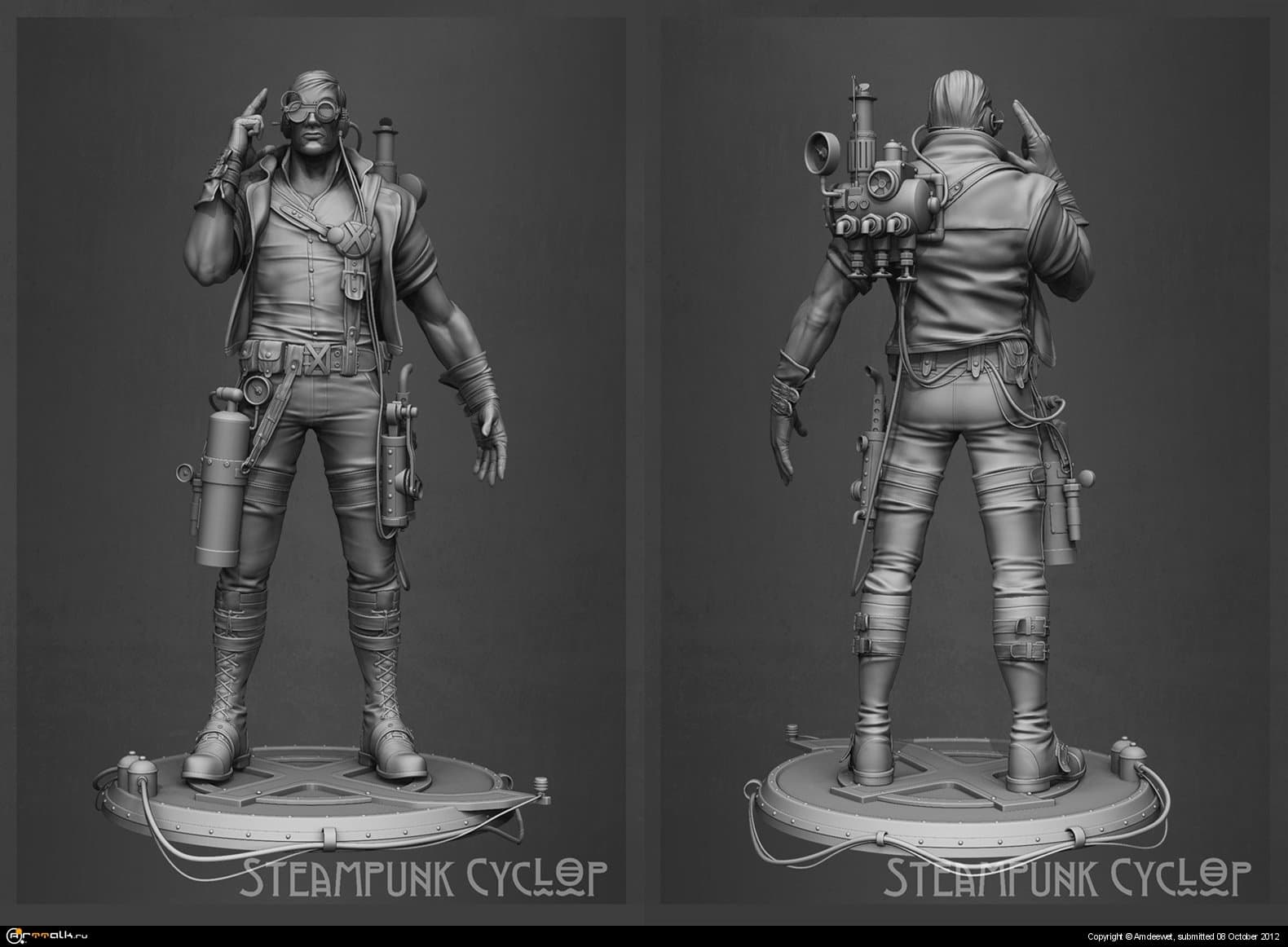 Steampunk Cyclop