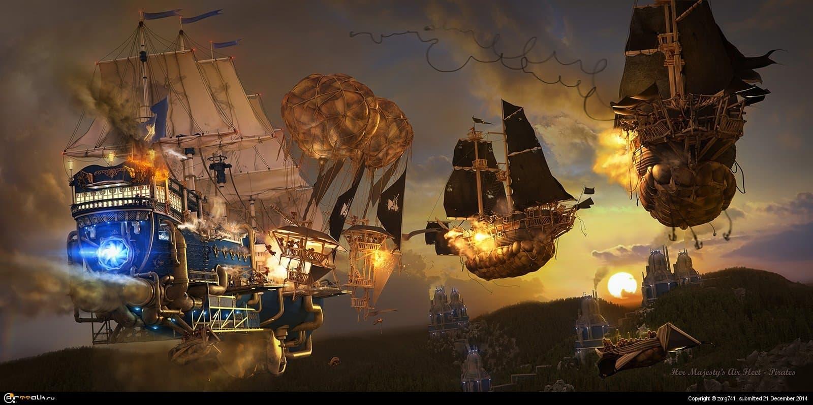 """""""Воздушный флот ее Величества""""Пираты"""