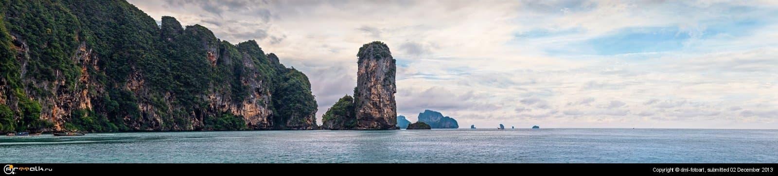 Thailand, Krabi, Pai Plong Bay
