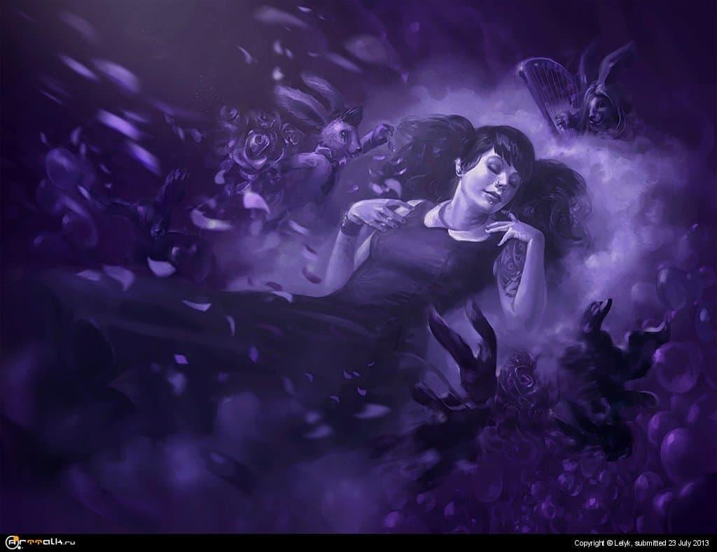 Фиолетовый сон Чиби