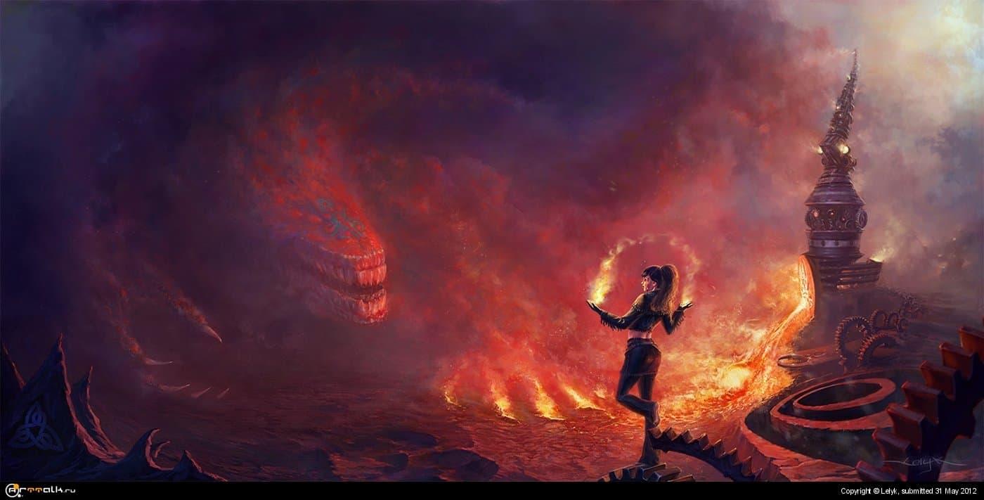 Игра с Огнём